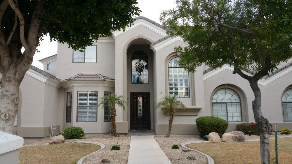 Custom House Exterior Painting Project In Mesa Az Envision Painting